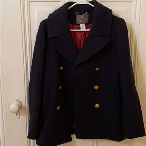 J. Crew Stadium cloth coat